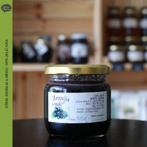 dzem aronija u medu, opg jelic ivka, zelena kuca petrinja