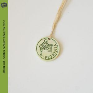 medaljica, domaca radinost dragutin cotic, zelena kuca petrinja