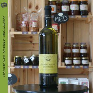 rajski rizlin, vinarija marincic, zelena kuca petrinja